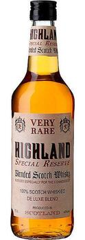 Highland Special Reserve, Blended Scotch Whisky