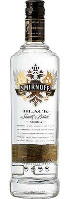 Smirnoff Black, Small Batch Vodka