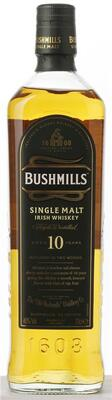 Bushmills 10 år Single Malt, Irish Whiskey